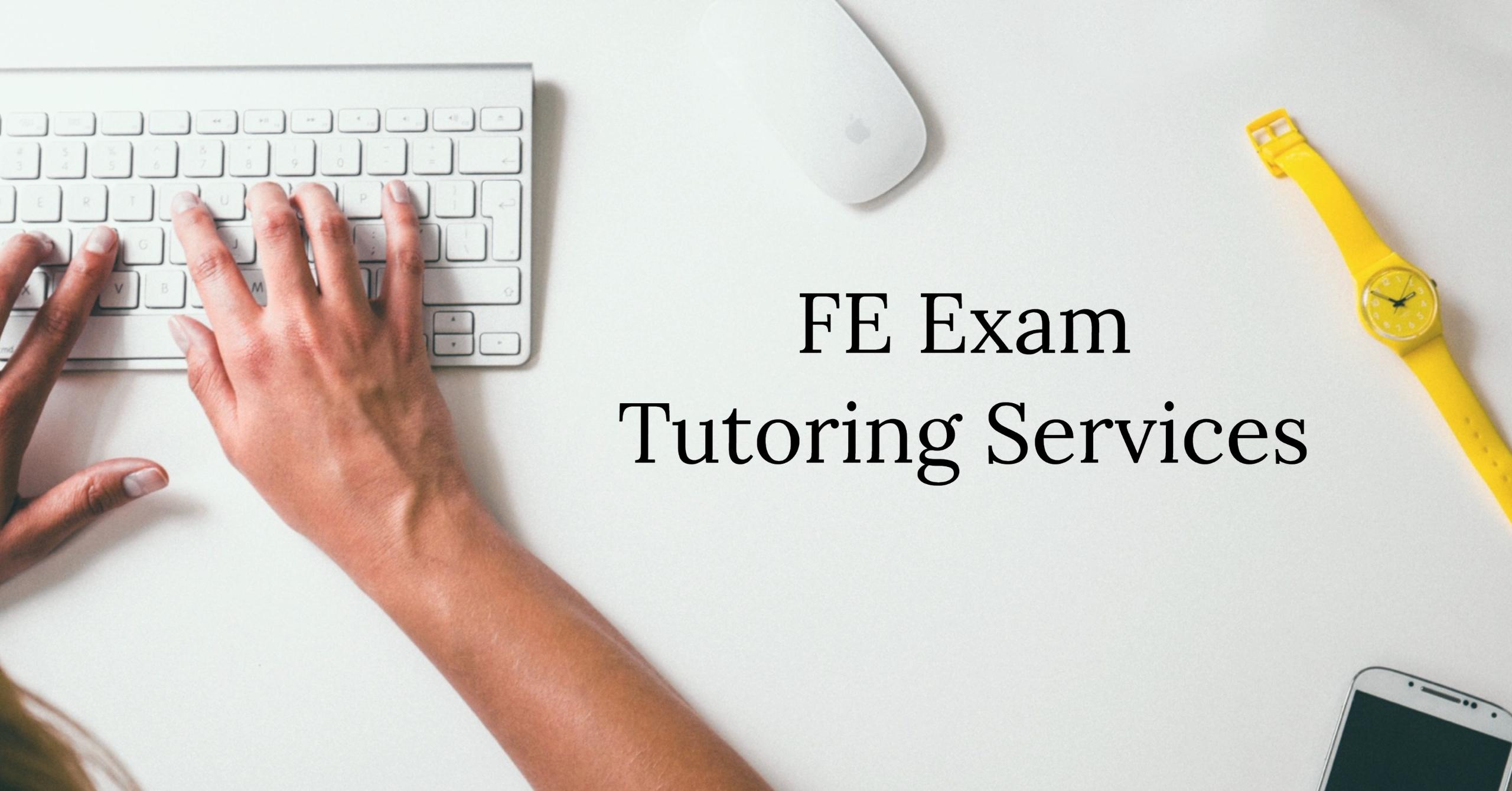 fe exam tutoring