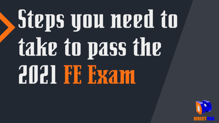 How to study for the FE Exam