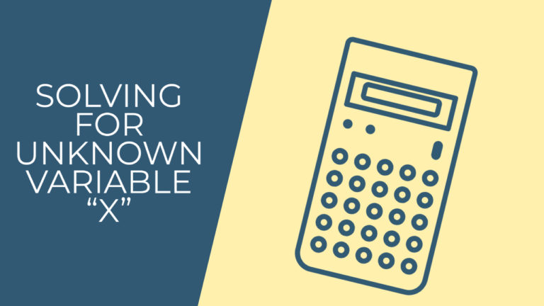 """FE Exam Calculator Tip – Solving for unknown variable """"x"""""""