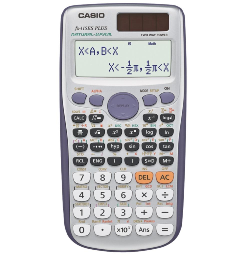 NCEES FE Exam Calculator Casio fx-115 ES Plus