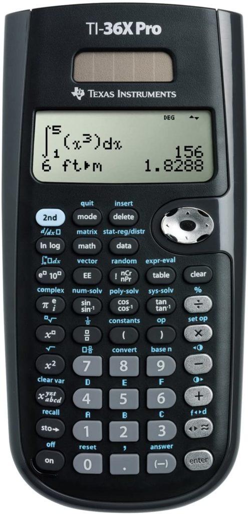 NCEES FE Exam Calculator TI-36x Pro